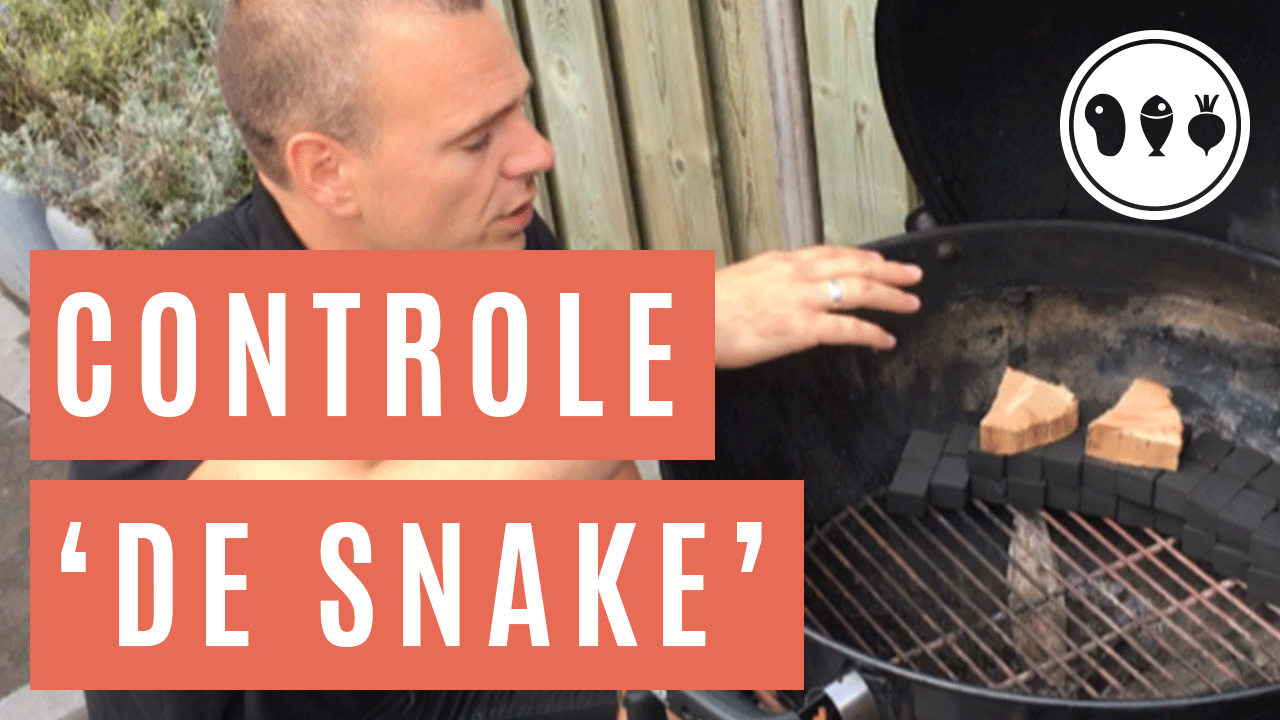 Hoe houd jij de BBQ onder controle? Vuurbeheersing deel 2: de snake-methode!