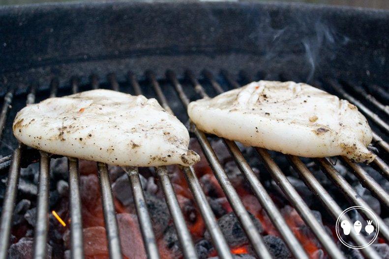 Gegrilde inktvis van de barbecue Door de jongens van BBQproof