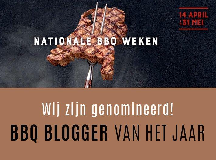 BBQ Blogger van het jaar? Stem op ons!!
