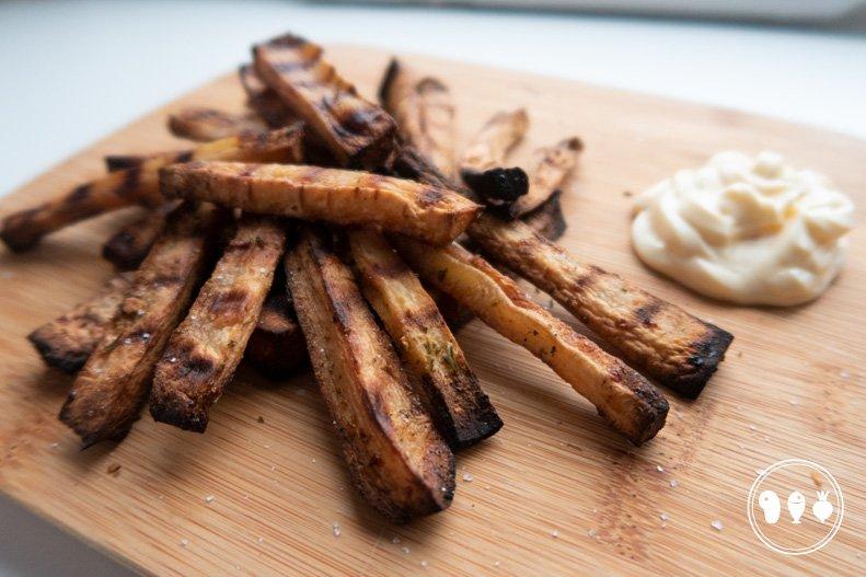 Pastinaakfriet met mayonaise