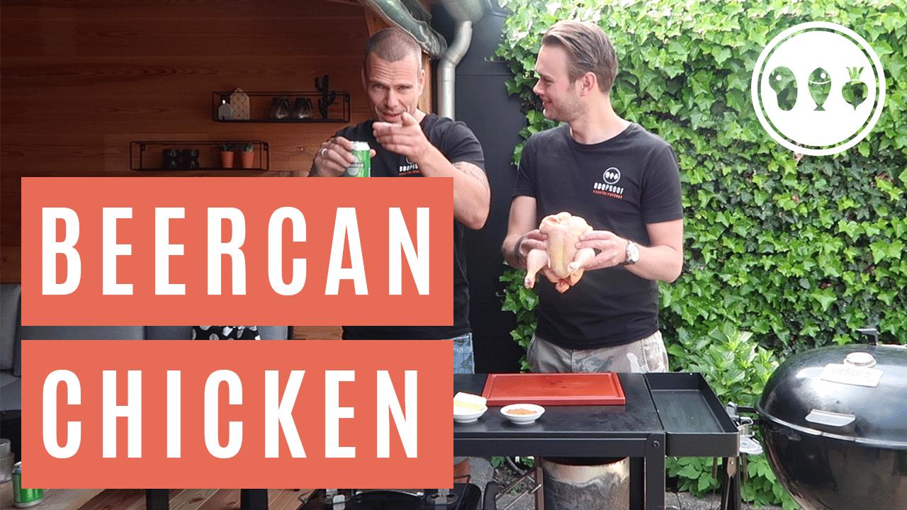 Hoe maak je de lekkerste Beercan chicken?