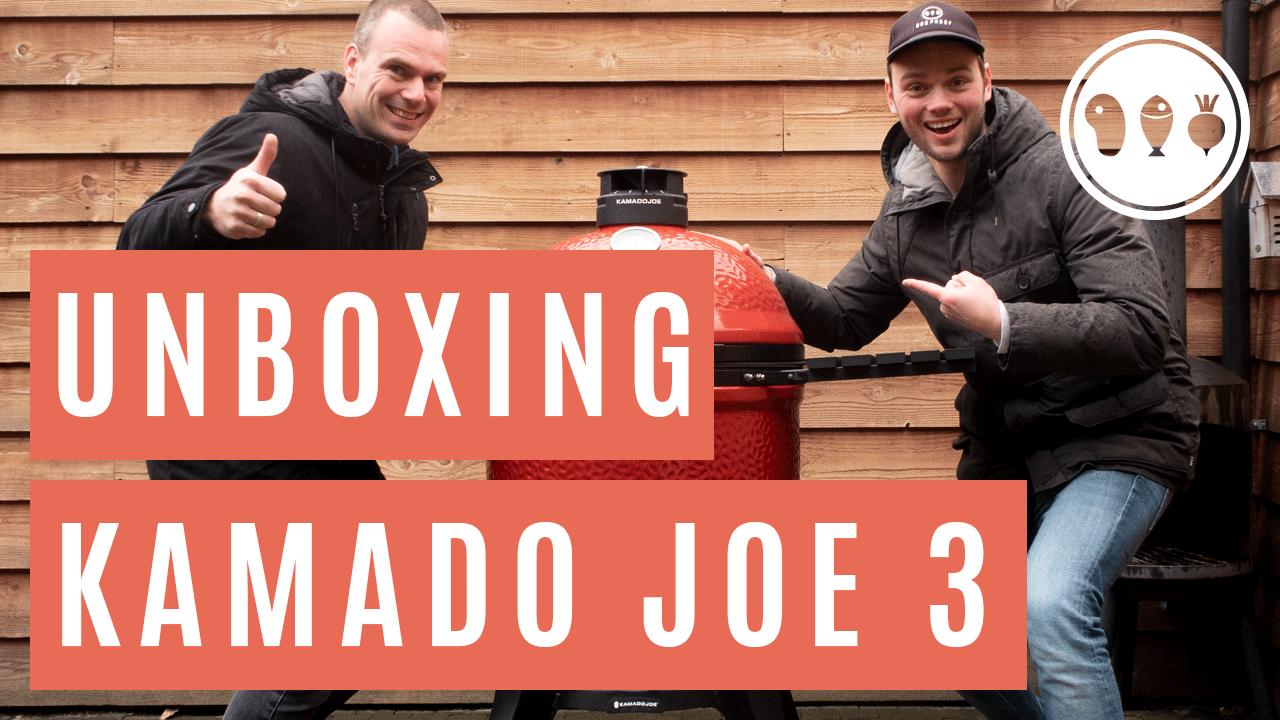 Unboxing van de Kamado Joe Classic 3!