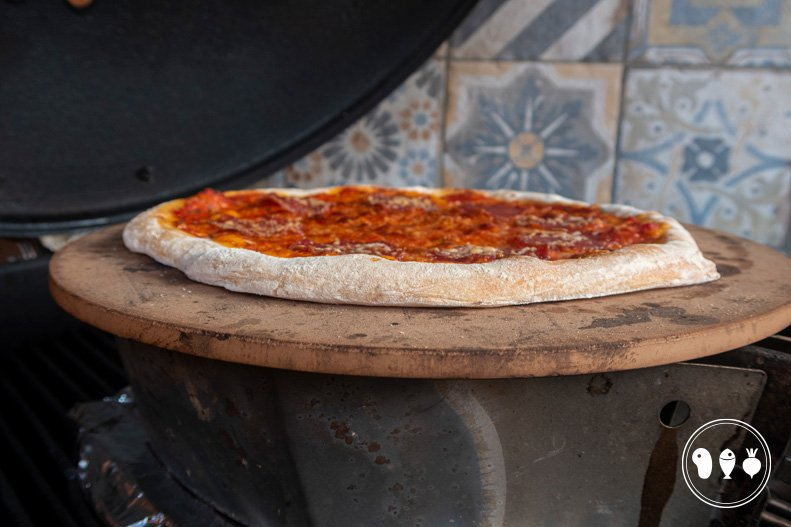 De ideale pizza set-up voor een Weber BBQ