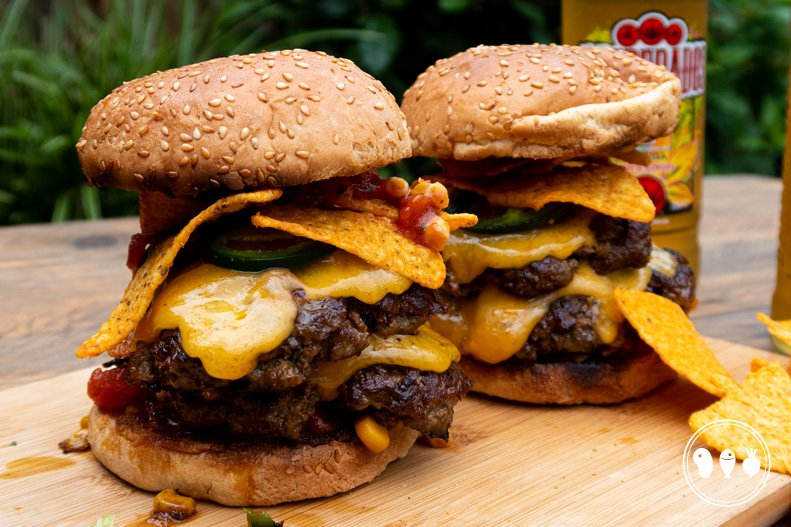 Mexicaanse spicy smashburger